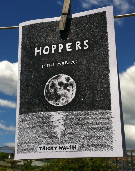 Image of Hoppers 1: the 'manias (Down There #2)