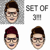 Image of DSY sticker pack (set of 3)