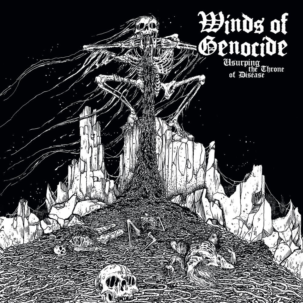 """WINDS OF GENOCIDE """"Usurping The Throne Of Disease""""  CD"""