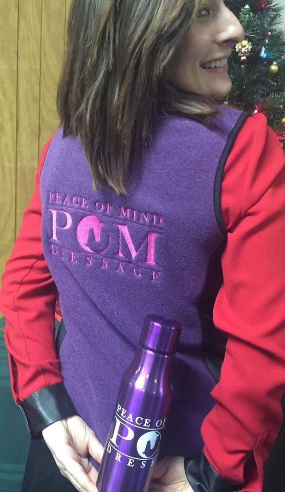 Image of POM Heathered Fleece Vest