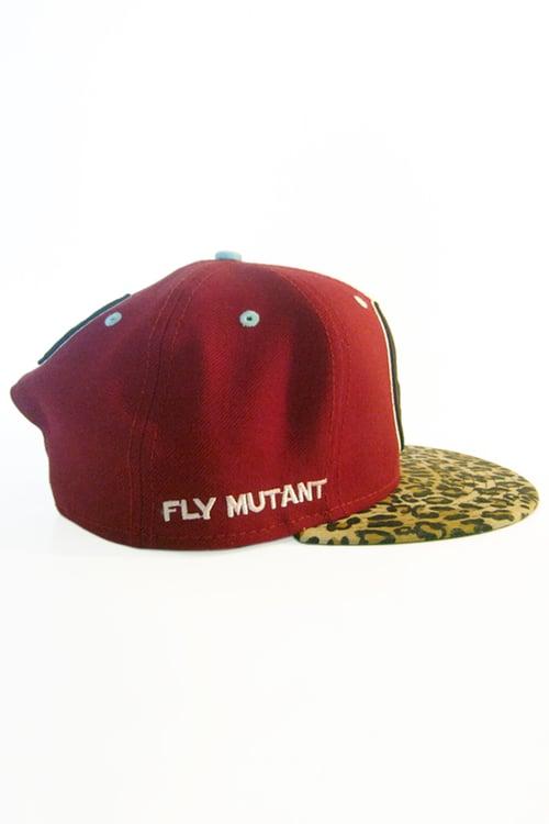 Image of The FM Crimson Cheetah Snapback Hat