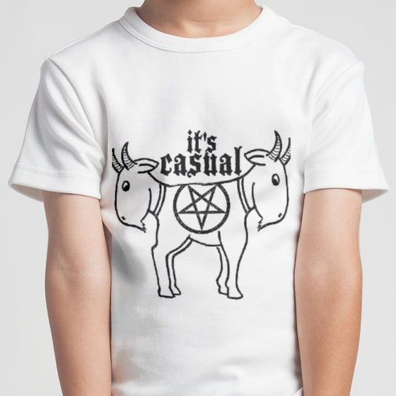 Image of Cute Goat Men's white