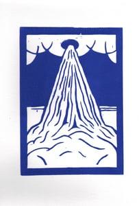 Image of Blue Sky Volcano