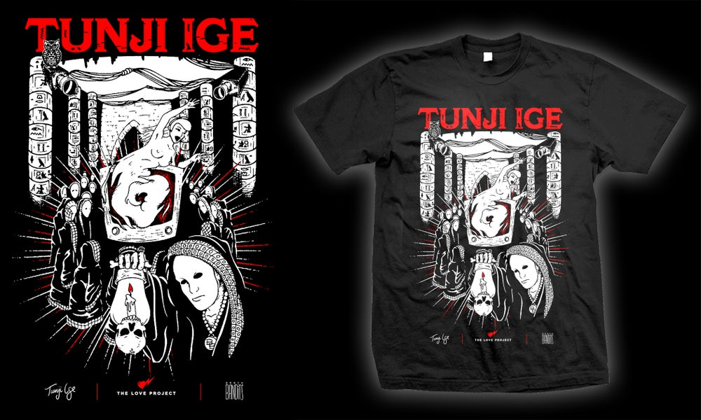 "Image of Tunji Ige ""Slow Dance"" Tee (Black)"
