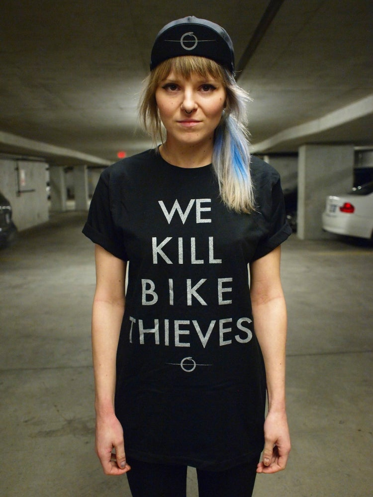 Image of We Kill Bike Thieves Tee