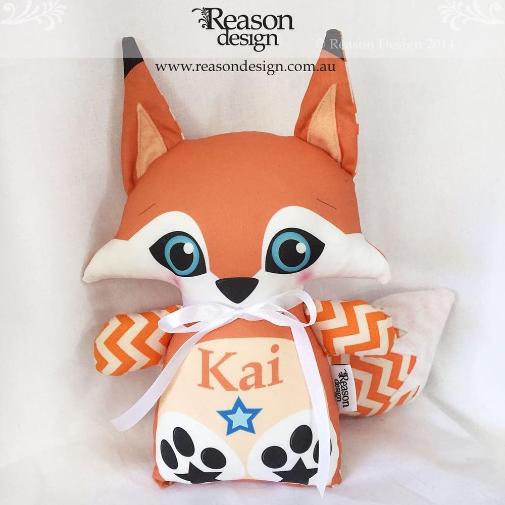 Image of Custom Name Boy Fox