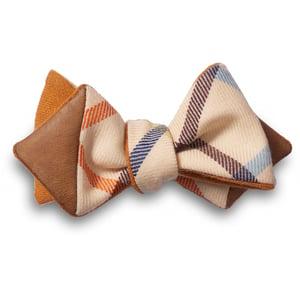 Image of JZ x MN4MN Orange Self-Tie