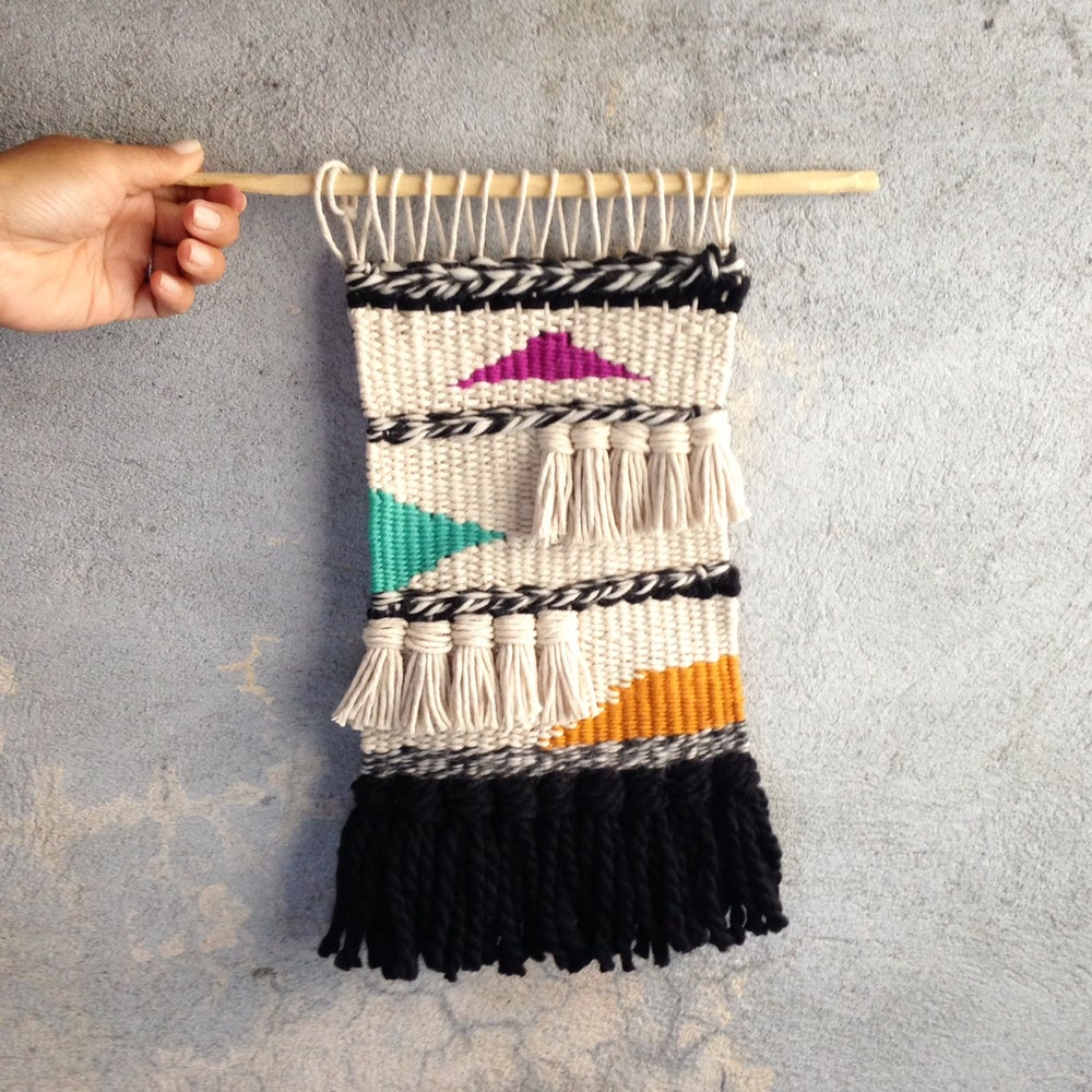 Image of Handmade Tapestry Wall Weaving 5