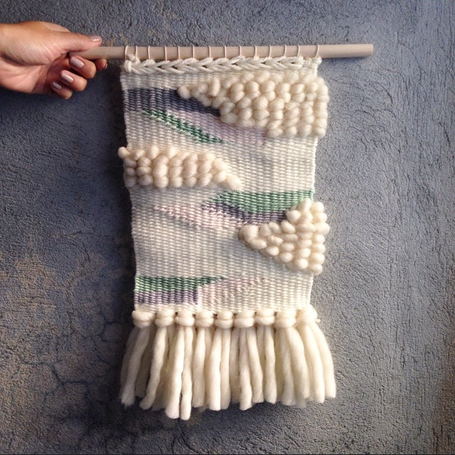 Image of Handmade Tapestry Wall Weaving 8
