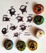 Image of Eda*mame Ninja Buttons #1