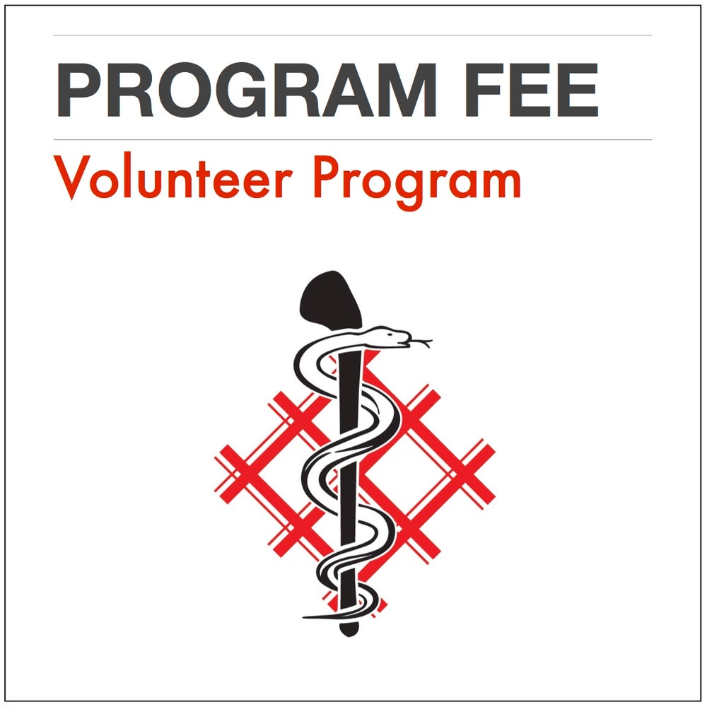Image of Program Fee [Volunteer Program]