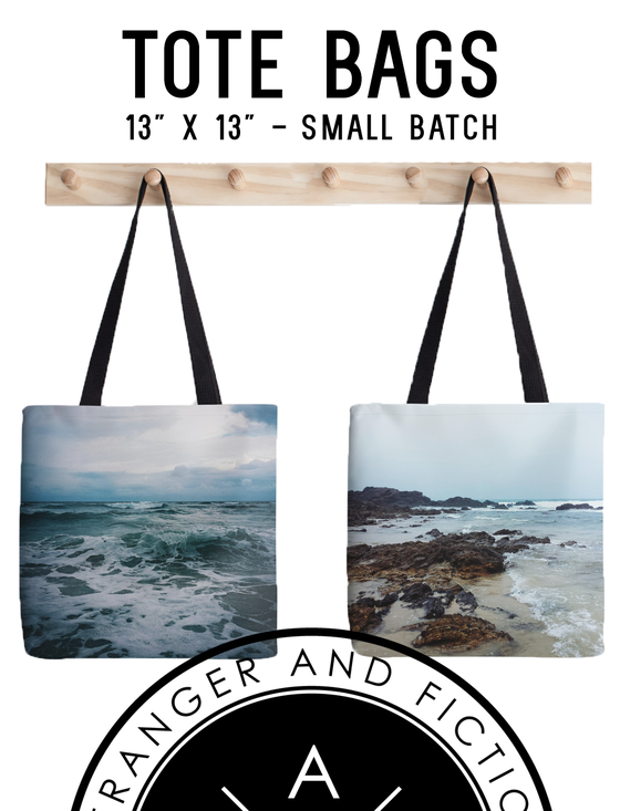Image of SAF Tote Bags - Crash Bang or The Cove