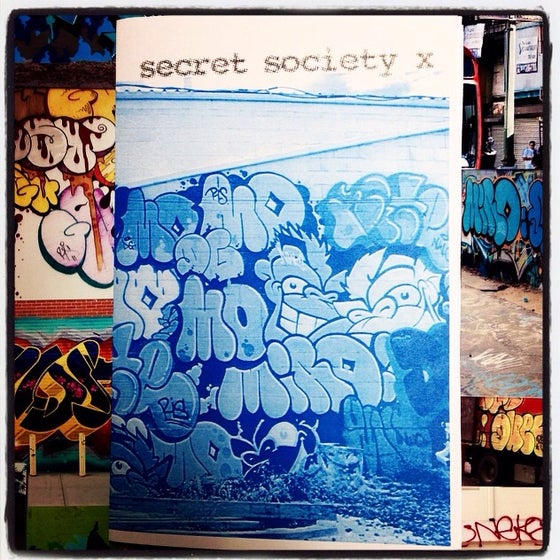 Image of SECRET SOCIETY GRAFFITI ZINE