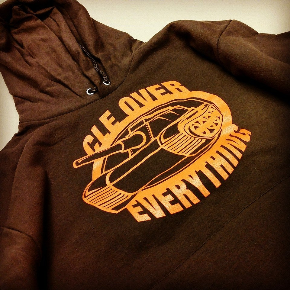 Image of Cleveland Over Everything Tank Hoodie