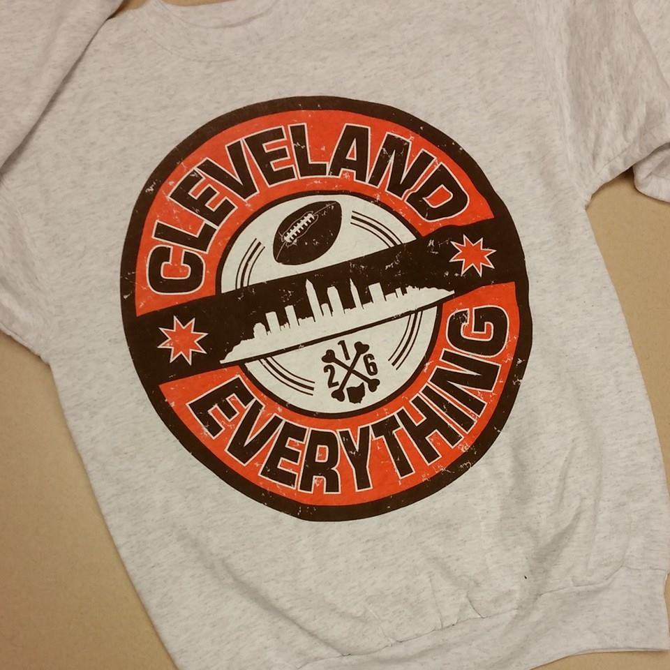 Image of Cleveland Over Everything Crewneck