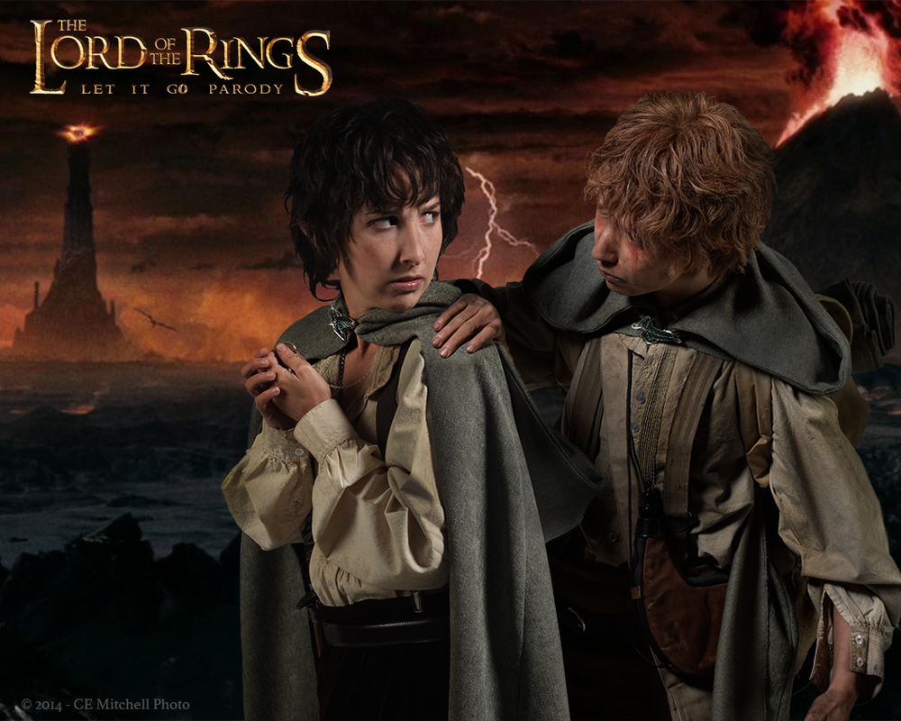 Image of Frodo and Samwise Autographed Photo