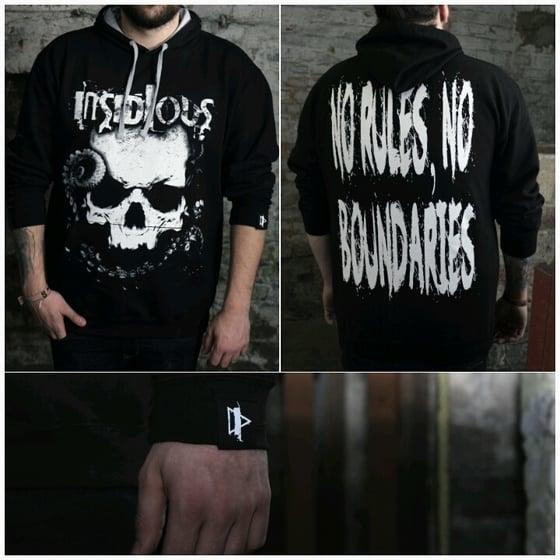 Image of INSIDIOUS Hoodie / black / Skull