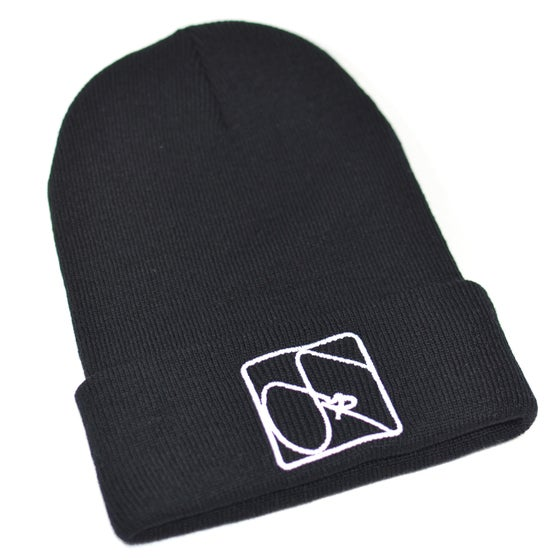 Image of FUR Black Beanie