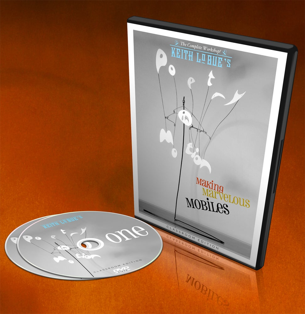 Image of Poetry In Motion: Making Marvelous Mobiles!  DVD Workshop Set