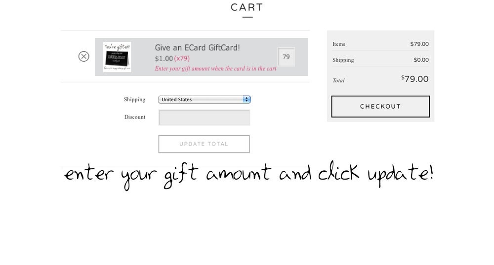 Image of Give an eGift Card! Free Shipping