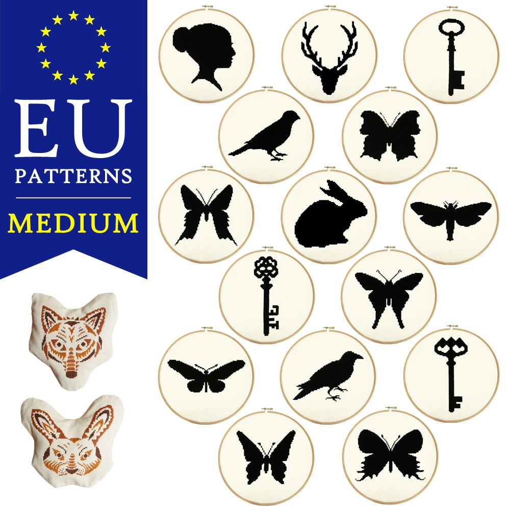 Image of EU PDF Patterns - Medium