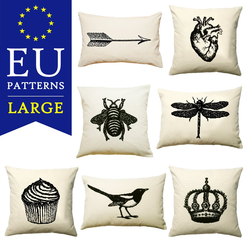 Image of EU PDF Patterns - Large