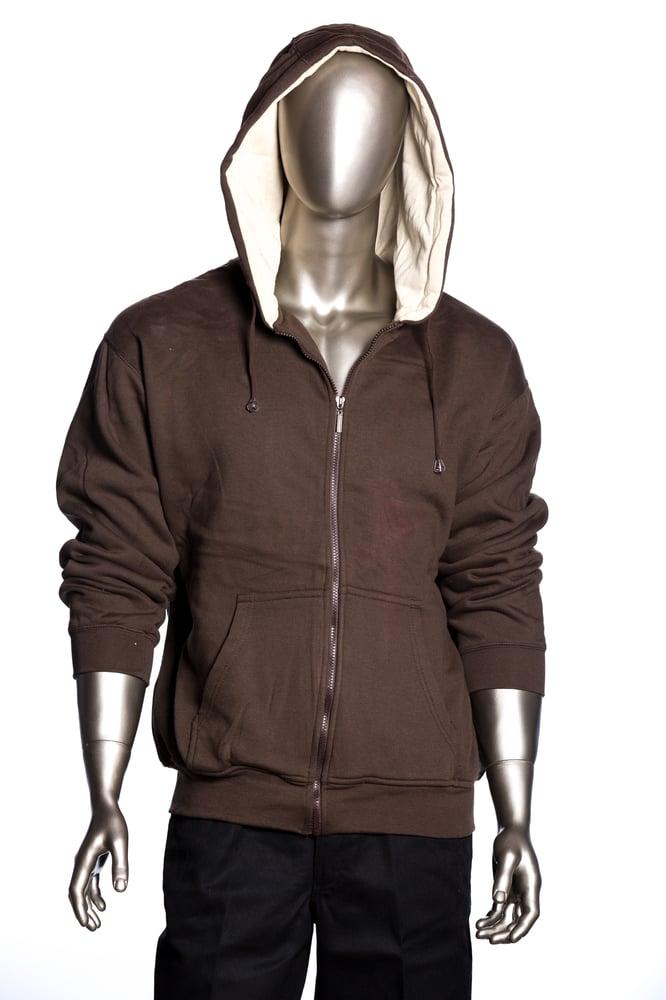Image of  Zip Up Fleece Hoodie