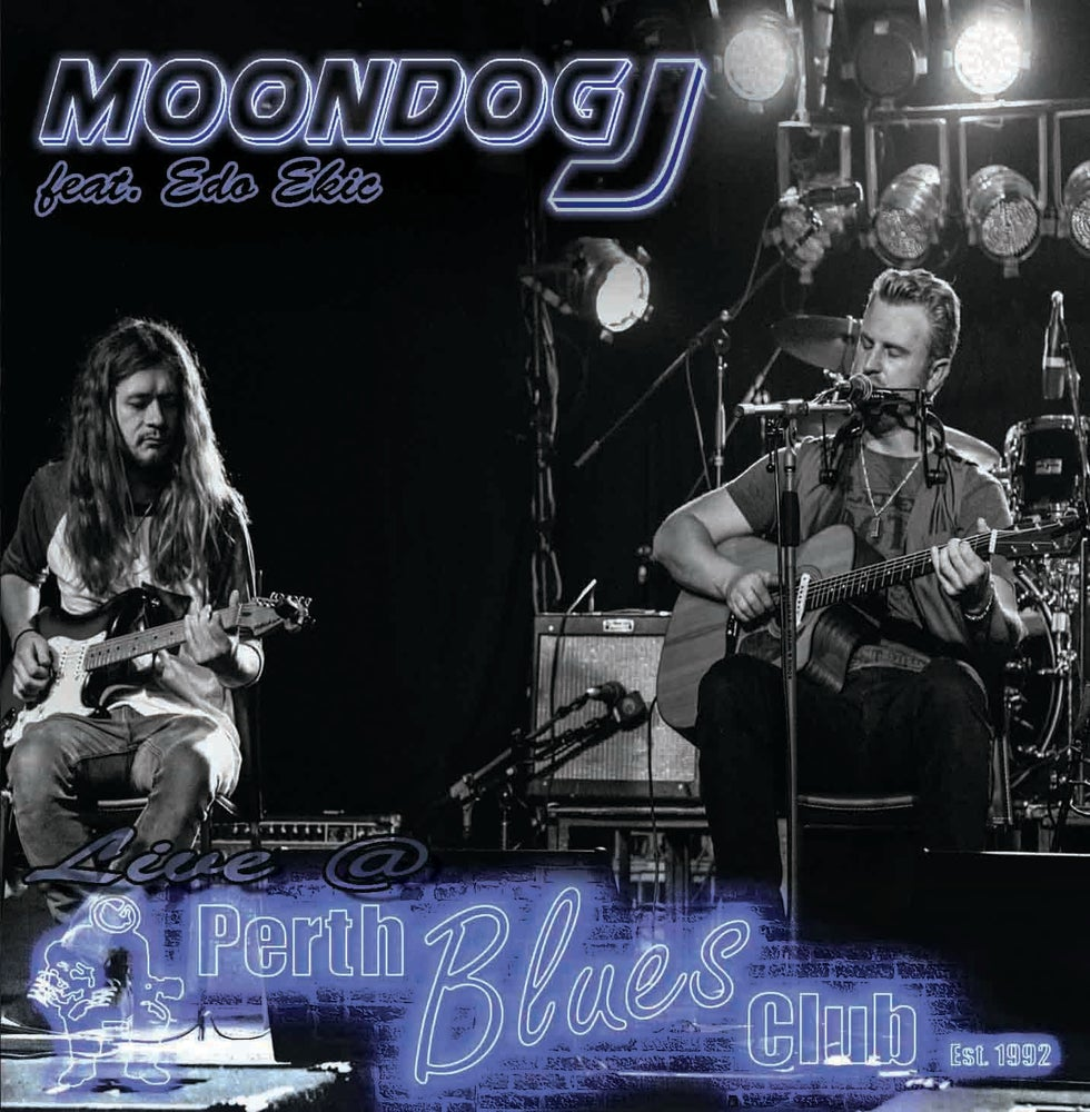 Image of Moondog J featuring Edo Ekic Live @ Perth Blues Club