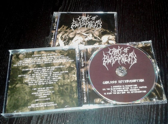 Image of Chant Of Blasphemy - Godless Extermination CD