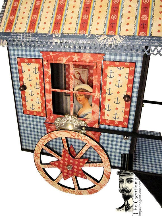 Image of The Victorian Bathing Box Tutorial - Instant DL