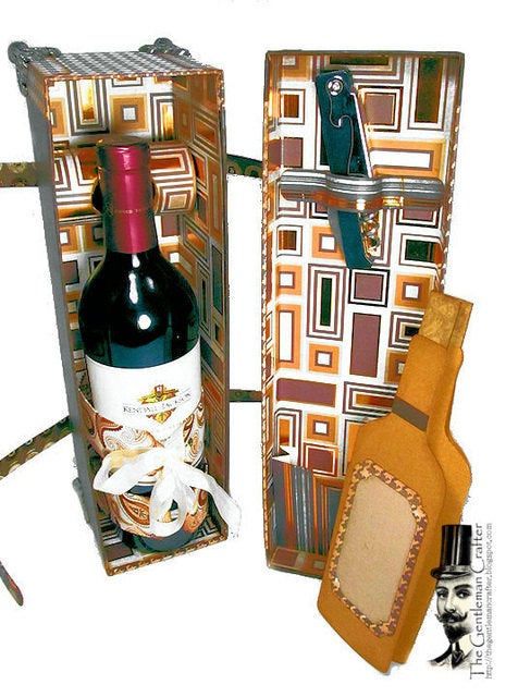 Image of The Leisa Traveling Wine Box Tutorial - Instant DL