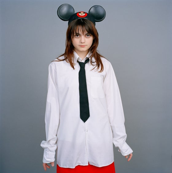 Image of Moni Mickey Girl Limited Edition Print