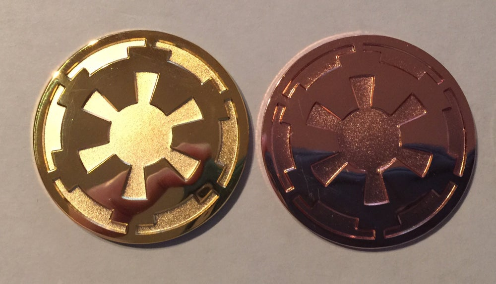 Image of Imperial Cog Lapel Pin 1.25""