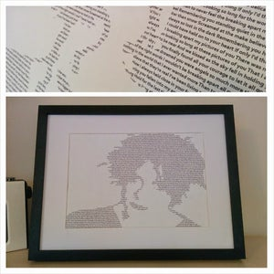 Image of The Cure / Pictures Of You Print