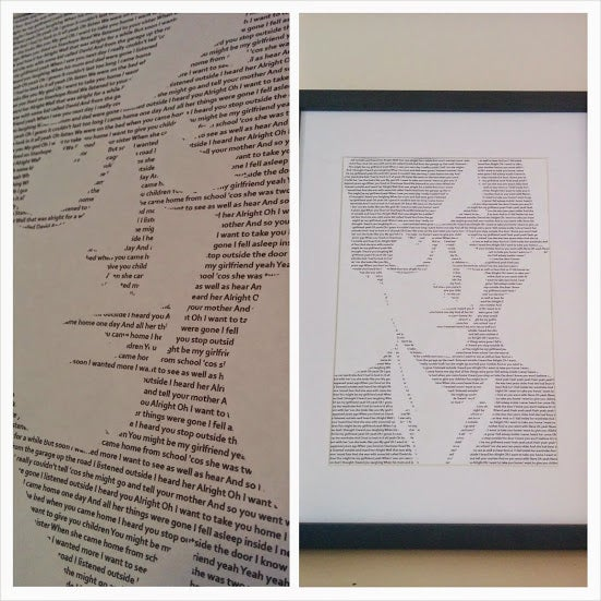 Image of Jarvis Cocker (Pulp) / Babies Print