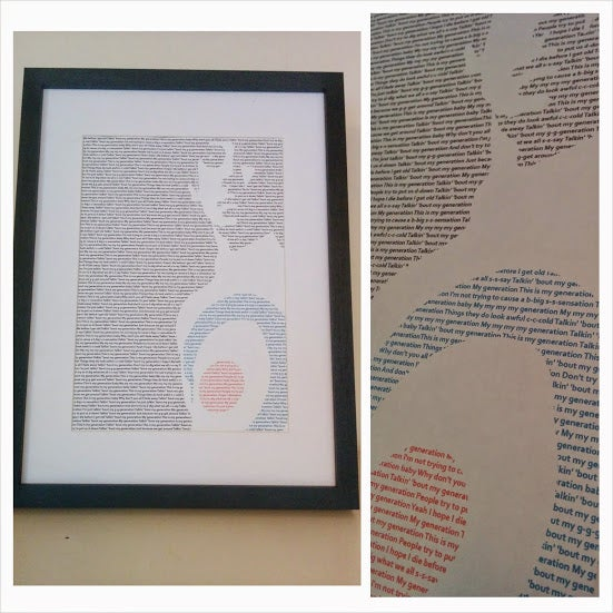 Image of Keith Moon (The Who) / My Generation Print