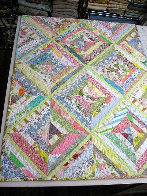 Image of custom quilt ... memory ...  baby ... lap ... nap ... full ... full/queen