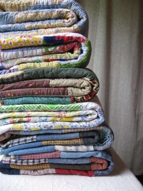 Image of custom quilt ... memory ...  baby ... lap ... nap ... full ... full/queen