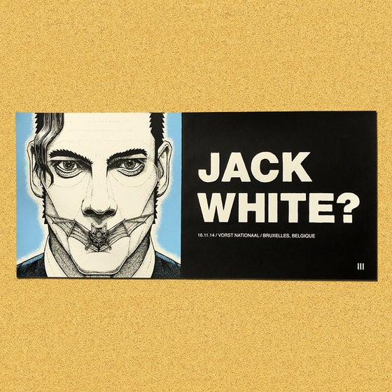 Image of Jack White 2014 Tour: Brussels