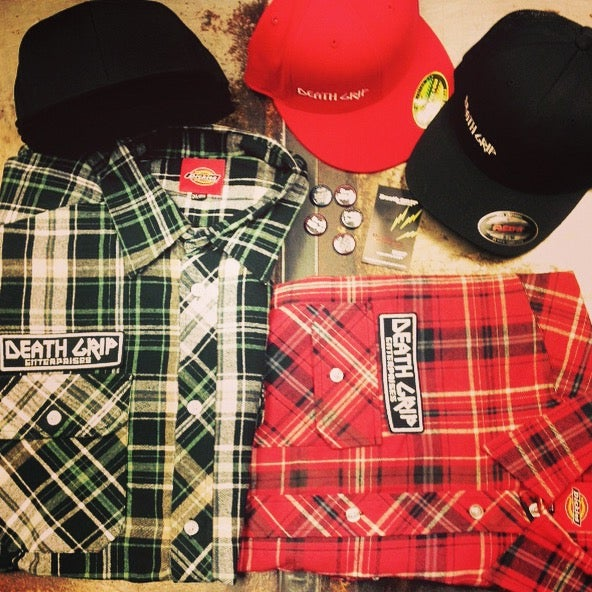 Image of Dickies Flannel - Navy Blue (Not Shown)