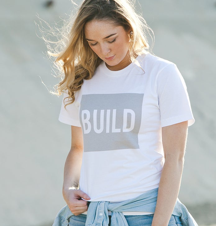 Image of Build (White)