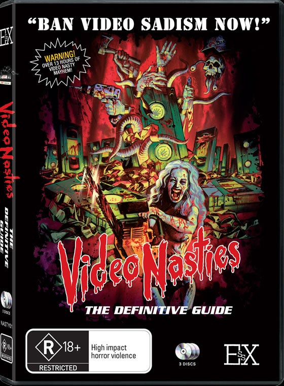 Image of Video Nasties: The Definitive Guide - Volume 1