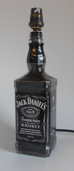 Image of JACK DANIEL's Bottle Lamp