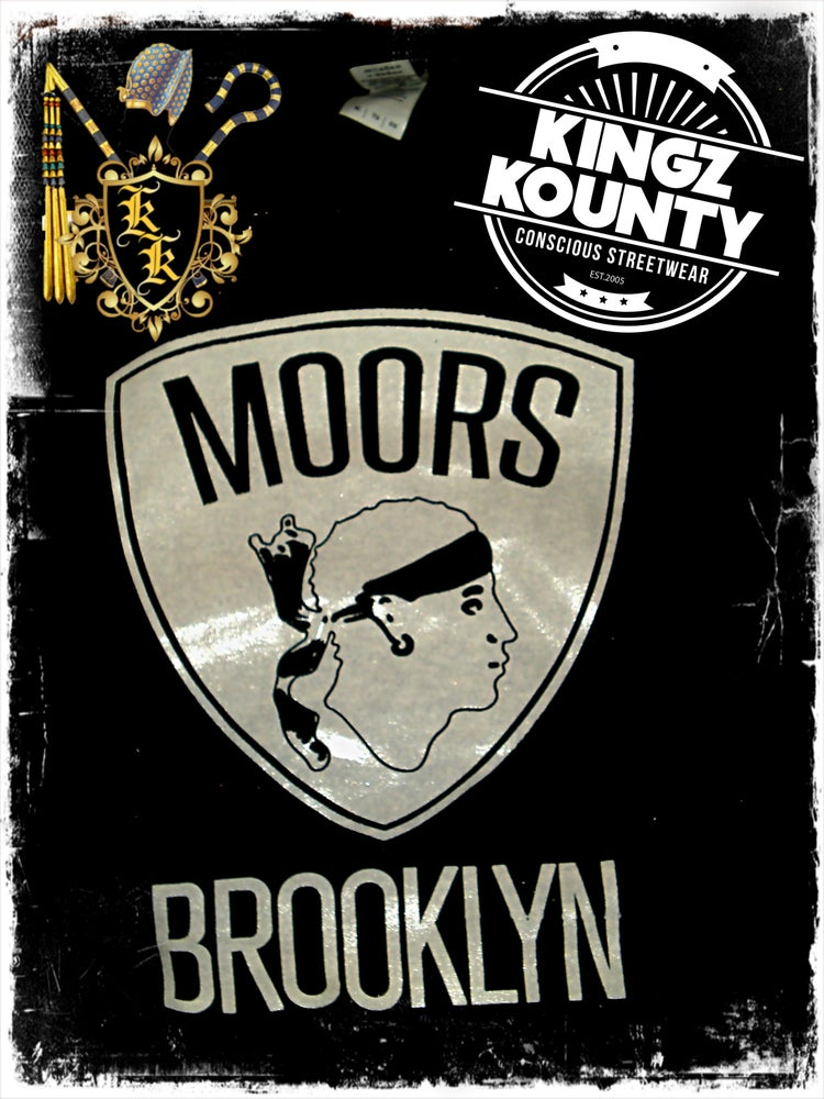 "Image of MOORS ""BROOKLYN NETS"" SWEATSHIRT"
