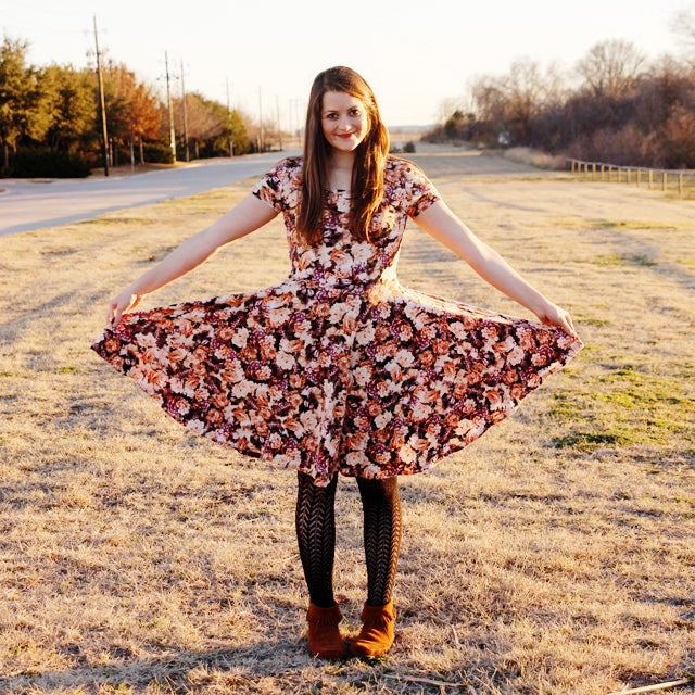 Image of Circle Skirt + Dress Add-on Pattern for the Penelope Peplum