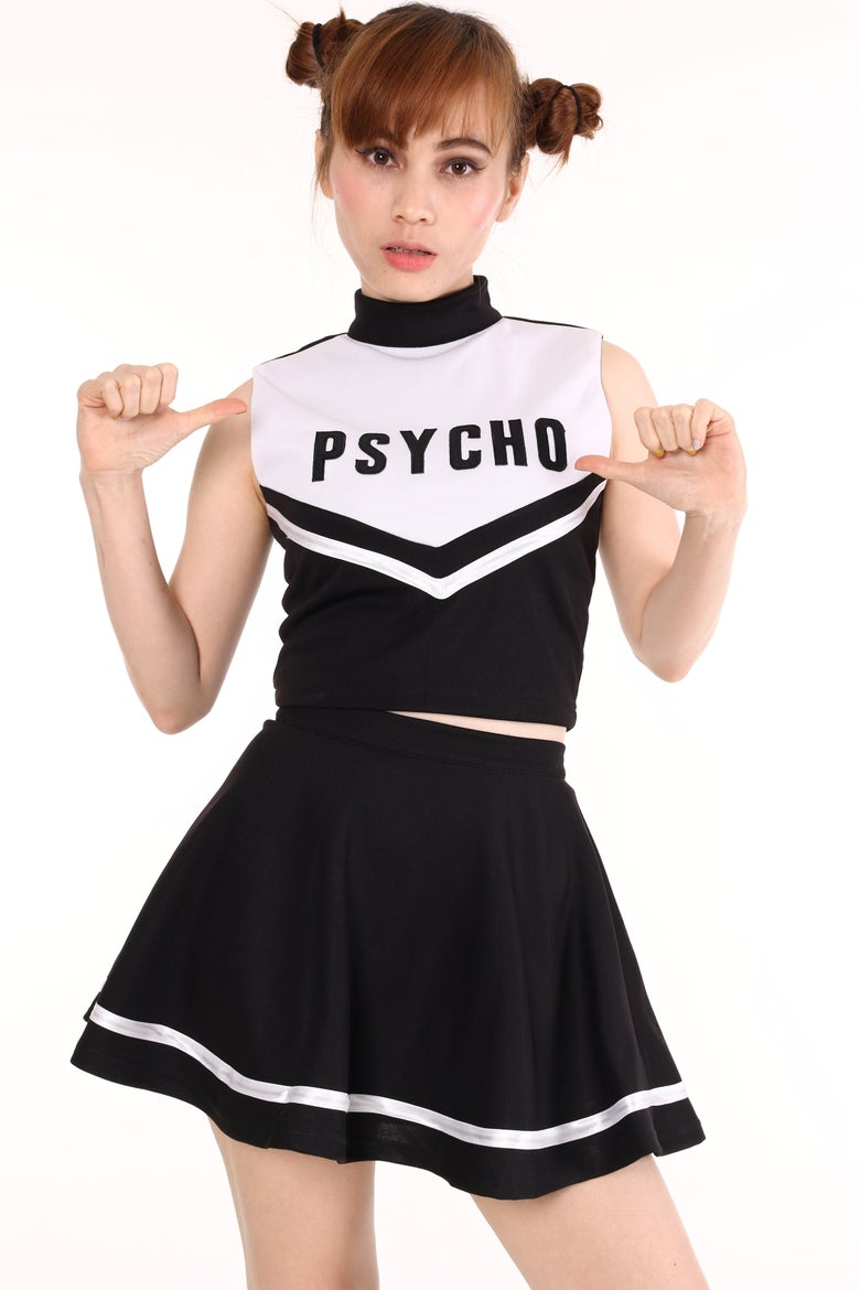 Image of Team Psycho Cheerleading Set