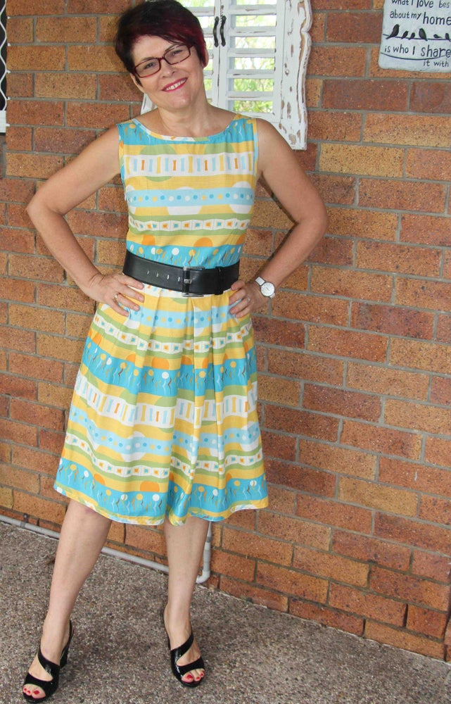Image of Audrey Tea Dress #33 - Size 10