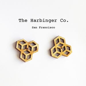 Image of Honeycomb Studs