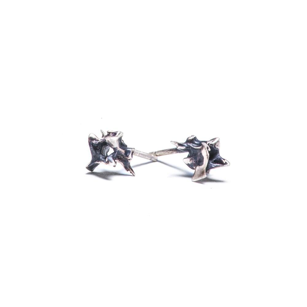Image of Vertebrae Stud Earrings
