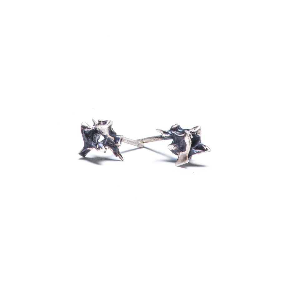 Image of Vertebrae Stud Earring